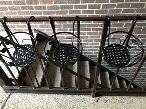 Tosnail iron art hanging basket flower pot holder for Sale in Alexandria, VA