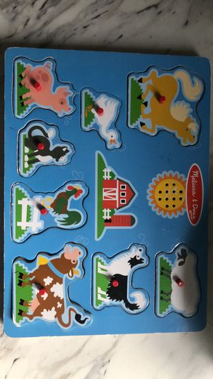 Melissa and Doug puzzle with noise for Sale in La Vergne, TN