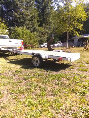 4x8 flat bed trailer for Sale in Hillsboro, OR