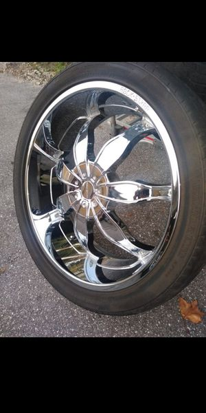 """24"""" wheels 5x127 and 5x139.7 for Sale in Orlando, FL"""