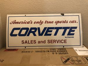Corvette Signs for Sale in Roosevelt, CA