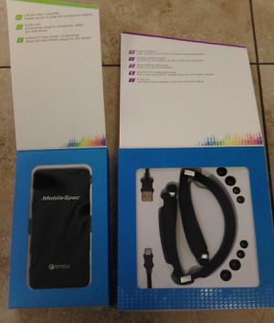 Portable phone charger & Bluetooth wireless headphones for Sale in Avondale, AZ
