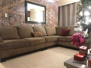 LUXURY MODERN BROWN 6 SEATER LOUNGE SOFA SECTIONAL!!!!!💛💜💟💞 for Sale in San Francisco, CA