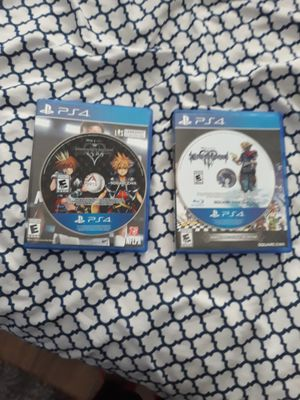 Kingdom hearts 1.5 & 3 for Sale in Fort Lauderdale, FL