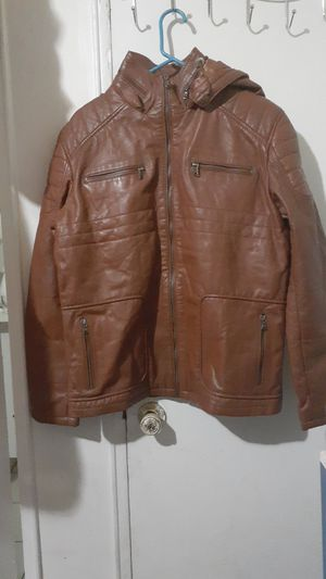 mens leather jacket for Sale in Brooklyn, NY