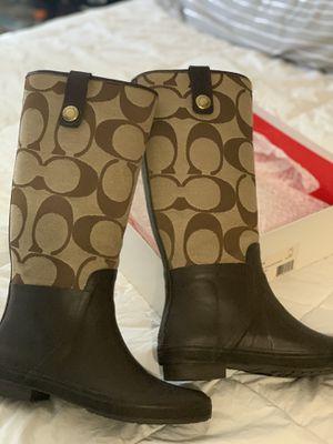 Coach Rain Boots for Sale in San Jose, CA