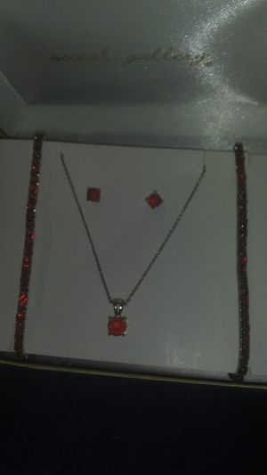 Ruby jewelry set for Sale in Fort Mitchell, AL
