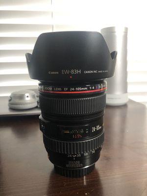 Canon 24 105 mm L lens for Sale in Phoenix, AZ