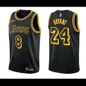 Kobe Bryant Nike Black Mamba City Edition Los Angeles Lakers Jersey for Sale in Keysville, VA