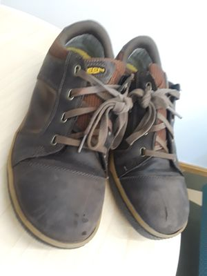Keen Mens US 10.5 D Brown Steel Toe Detroit Safety Toe Shoes ASTM F2413-11 #2 for Sale in Los Angeles, CA