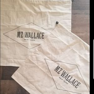 2 MZ Wallace designer handbag dust bags New FIRM, SHIPS ONLY for Sale in Hollywood, FL