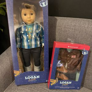 NEW American Girl Logan Everett Doll for Sale in Wantagh, NY