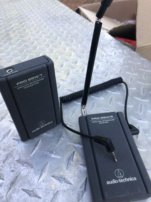 Audio Technical Pro 88 wireless microphone headset for Sale in Riverside, CA