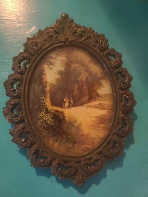 VINTAGE 3x5 photograph and frame for Sale in Hazelwood, MO