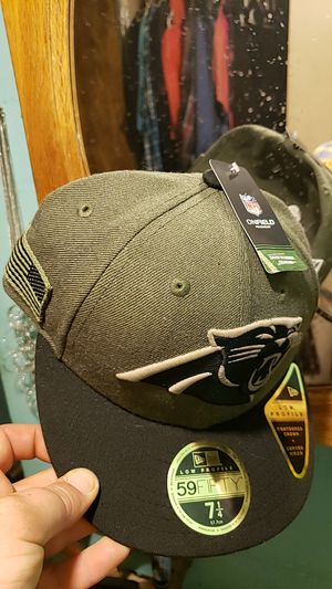 59 fifty Carolina Panthers salute the troops for Sale for sale  Kings Mountain, NC