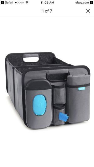 Brica out and about collapsible trunk organizer and diaper changing station for Sale in Gaithersburg, MD