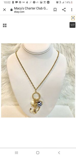 Charter club jewelry for Sale in Norwalk, CA