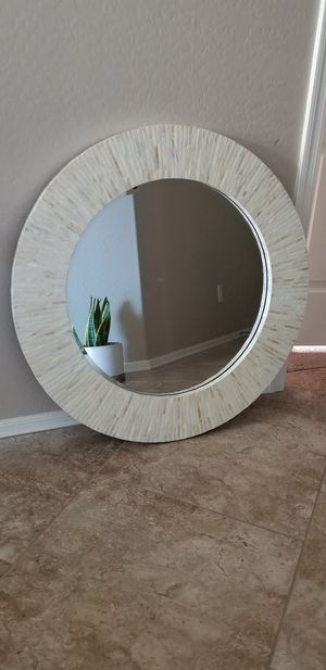 Mother of pearl wall mirror for Sale in Laveen Village, AZ