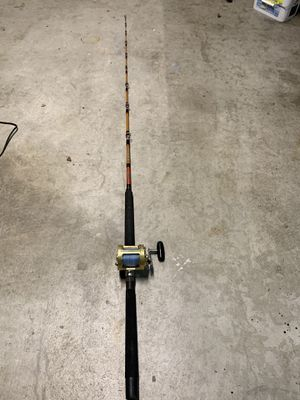 Saltwater fishing rod and reel. for Sale in Harbor City, CA