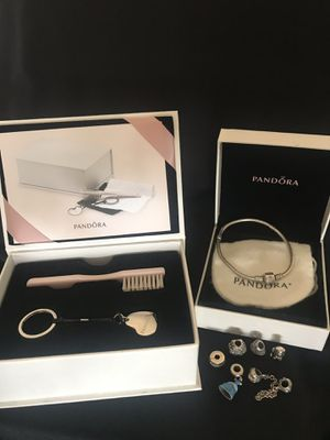 Pandora bracelet + Charms and cleaning kit for Sale in Phoenix, AZ