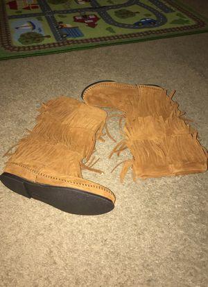 Calf high fringe Minnetonka boot for Sale in Philadelphia, PA