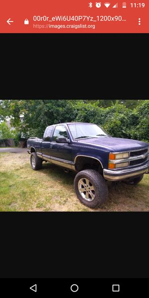 1995 Chevy 1500 4x4 for Sale in Nashville, TN