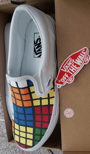 "Custom ""Rubik's Cube"" VANS Slip-ons! for Sale in Albany, OR"