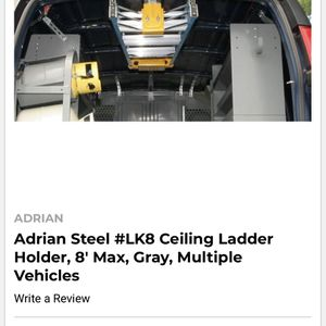 Brand New Ladder Holder Rack For Medium Or High Roof Van / Vehicle for Sale in San Diego, CA