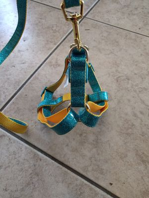 glittery harness and leash for Sale in Chula Vista, CA