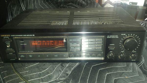 Onkyo Tuner Amplifier Radio