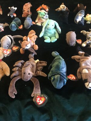 Lot of 39 Beanie Babies with tags for Sale in West Covina, CA