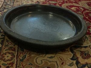 Plant stoneWare Saucer fits 11 inch pot for Sale in Jersey City, NJ