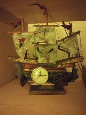 Antique musical sailboat clock for Sale in Toms River, NJ