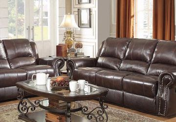 New Leather Sofa & loveseat Set for Sale in Sandy,  UT
