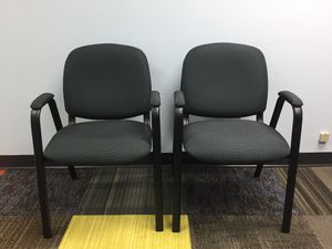 $15 each we have 4 - fabric chairs for Sale in South Brunswick Township, NJ