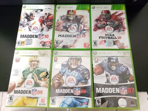 Xbox 360 games! ▪︎ $5 Each \ $25 for ALL for Sale in Las Vegas, NV