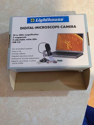Lighthouse digital microscope camera for Sale in Homer Glen, IL