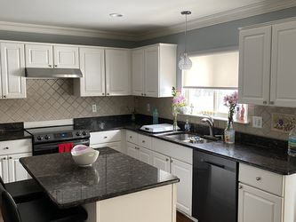 Granite Kitchen Cabinets, Counter Top And Sink for Sale in Macomb,  MI