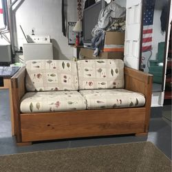 Two Seat Wood Loveseat for Sale in Pittsburgh,  PA