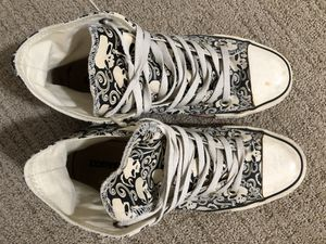 Converse All Star with skulls for Sale in Wheat Ridge, CO