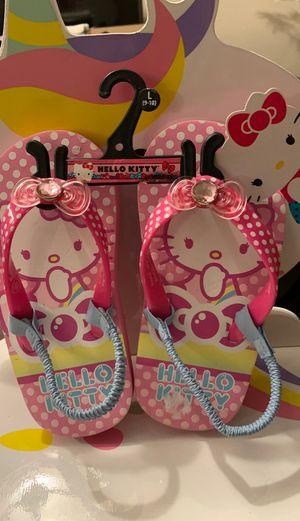 Hello kitty shoes size L 9/10 for Sale in El Cajon, CA