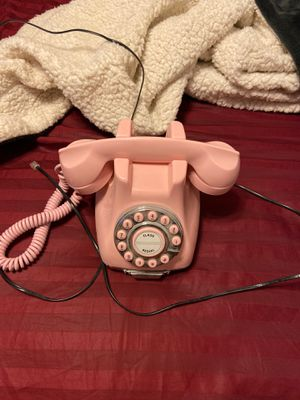 pink land line phone for Sale in Phoenix, AZ