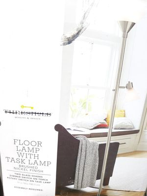 Brand New Floor Lamp with Task Lamp for Sale in Fontana, CA