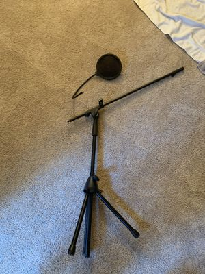 Microphone stand for Sale in Colorado Springs, CO