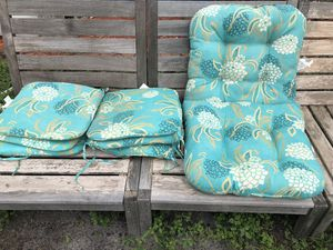 8pc outdoor cushions set for Sale in Davie, FL