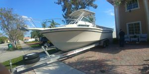Grady White 28' , 2 Evinrude 250 HP, Custom Aluminum Ultimate Trailers, Ram 1500 5.7 L Hemi for Sale in Miami, FL