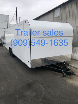 Brand new 8.5x26x7 enclosed trailer for Sale in Rancho Cucamonga, CA