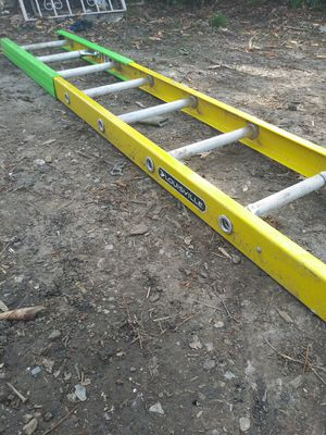 Lewisville fiberglass 12 foot ladder for Sale in Kansas City, MO