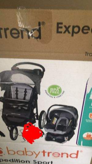 Babytrend stroller and car seat for Sale in Greensboro, NC