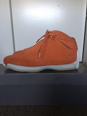 Jordan 18 Campfire Orange for Sale in Stockton, CA